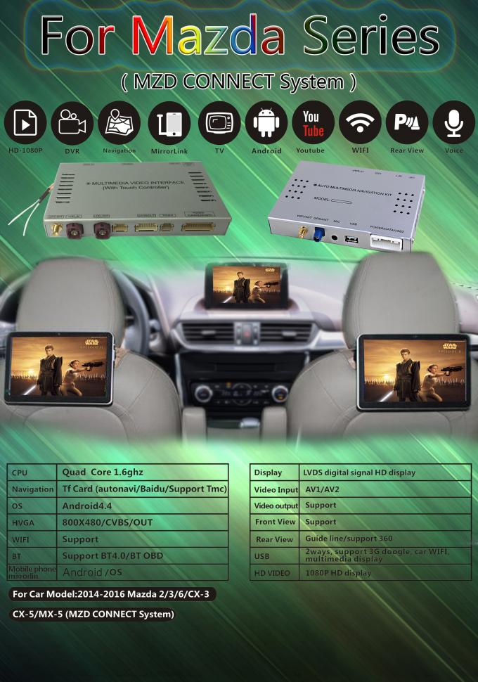One car Front View navigation device with auto Android Navigation System