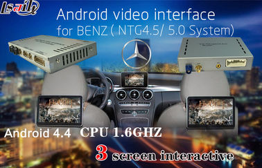 الصين 800X480 Car Multimedia Navigation System for Benz A/B/C/E , Android Auto Interface المزود
