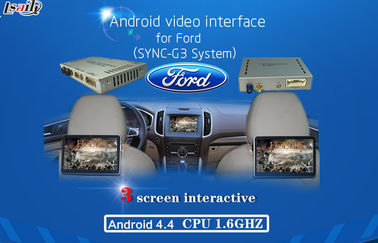 الصين Android AV output video interface GPS Car Multimedia Navigation System for 2016 Ford , WIFI/BT/TV المزود