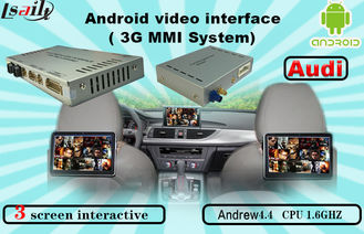 الصين Quad Core Android Navigation box , Upgraded Multimedia Video Interface for AUDI المزود