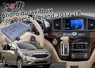 Nissan Elgrand Quest 7.1 Android Navigation Box ، جهاز ملاحة GPS دائم