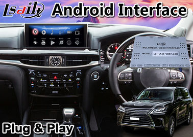 Android 9.0 Navigation Box for Lexus LX 570 2016-2020 Mouse Control support Carplay Video Interface lx570 lx450d