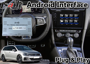 Android 9.0 Car GPS Navigation for Volkswagen Golf Skoda , Multimedia Video Interface