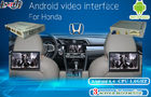 Honda Multimedia Video Interface Android Navigation , Headrest Dispaly , Mobile Phone Mirrorlink