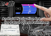 GPS Navigation Android Auto Interface Support التنشيط الصوتي لـ Nissan