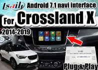 الصين Android 7.1 Car Video Interface لـ 2014-2018 يدعم Opel Crossland X Insignia الهاتف الذكي mirrorlink ، ونوافذ مزدوجة الشركة