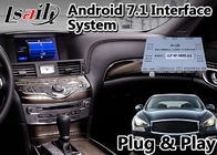 نظام الملاحة Carplay Adas GPS Navigation Lsailt Android 9.0 لـ Infiniti Q70 2014-2020