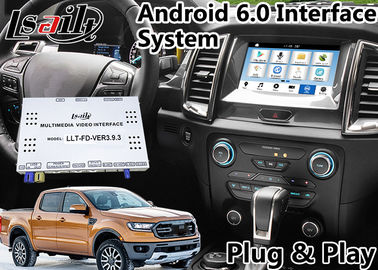الصين Android 6.0 Auto Interface Gps Navigation for Ford Ranger / Everest SYNC 3 System LVDS Digital Display Bluetooth OBD موزع