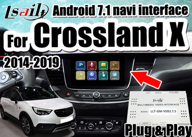 الصين Android 7.1 Car Video Interface لـ 2014-2018 يدعم Opel Crossland X Insignia الهاتف الذكي mirrorlink ، ونوافذ مزدوجة موزع