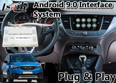 الصين صندوق ملاحة GPS لنظام Android 2014-2019 Opel Crossland X Intellilink System ، Bluetooth OBD مصنع