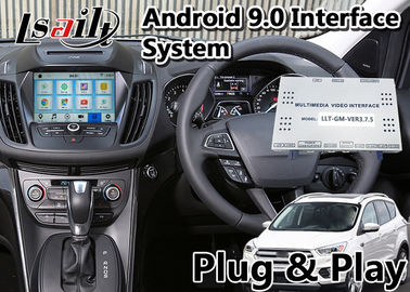 الصين Escape / Fusion Android 9.0 Auto Interface Navigation for Ford SYNC 3 System المدمج في WIFI BT Mirrorlink GPS مصنع