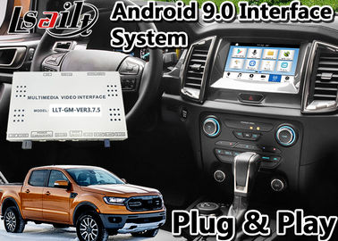 الصين Android 9.0 Auto Interface Gps Navigation for Ford Ranger / Everest SYNC 3 System LVDS Digital Display Bluetooth OBD موزع